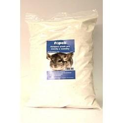 Písek pro činčily bílý 3kg...
