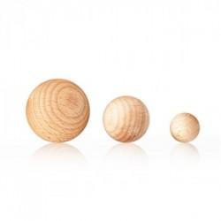 Dřevěné kuličky 5ks...