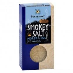Smokey salt, mořská sůl...